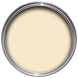 B&Q Cream Silk Emulsion paint 2.5L