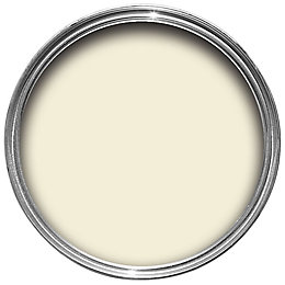Colours Milky white Satin Emulsion paint 0.75L