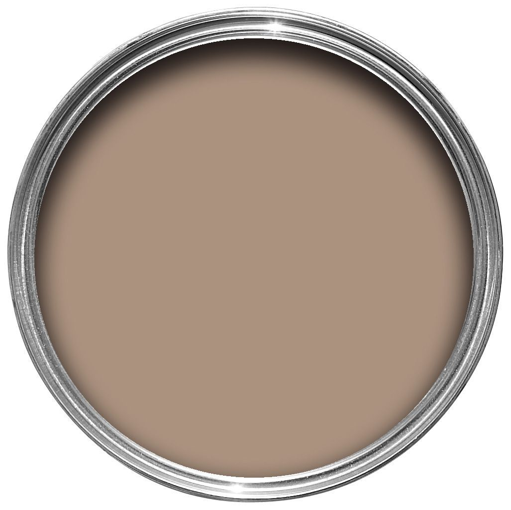 Colours Mary Jane Brown Gloss Wood Amp Metal Paint 0 75l