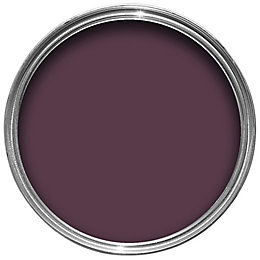 Colours Dark plum Gloss Wood & metal paint