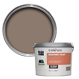 Colours Old earth Smooth Masonry paint 5L