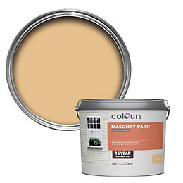 Colours Sandy wash Smooth Masonry paint 5L