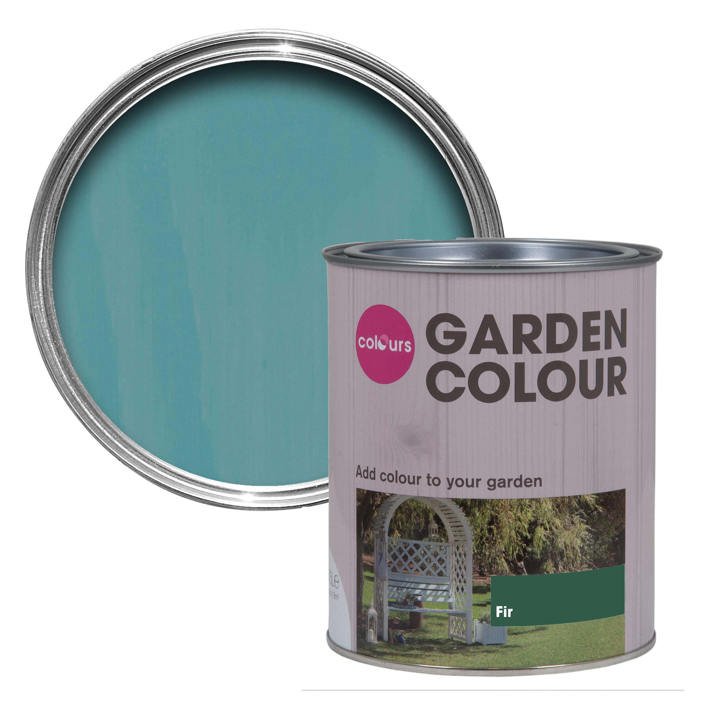 Colours Garden Fir Matt Wood Stain Departments Diy At B Q