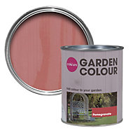 Colours Garden Fuchsia Matt Woodstain 0.75L