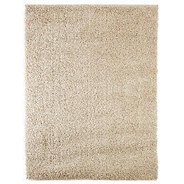 Colours Kala Cream Rug (L)1.2m (W)0.6m