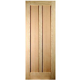 Vertical 2 Panel Oak Veneer Unglazed Internal Standard