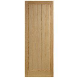 Cottage Panel Clear Pine Unglazed Internal Standard Door,