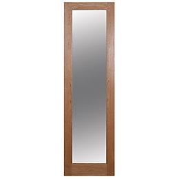 1 Panel Shaker Oak Veneer Glazed Internal Standard
