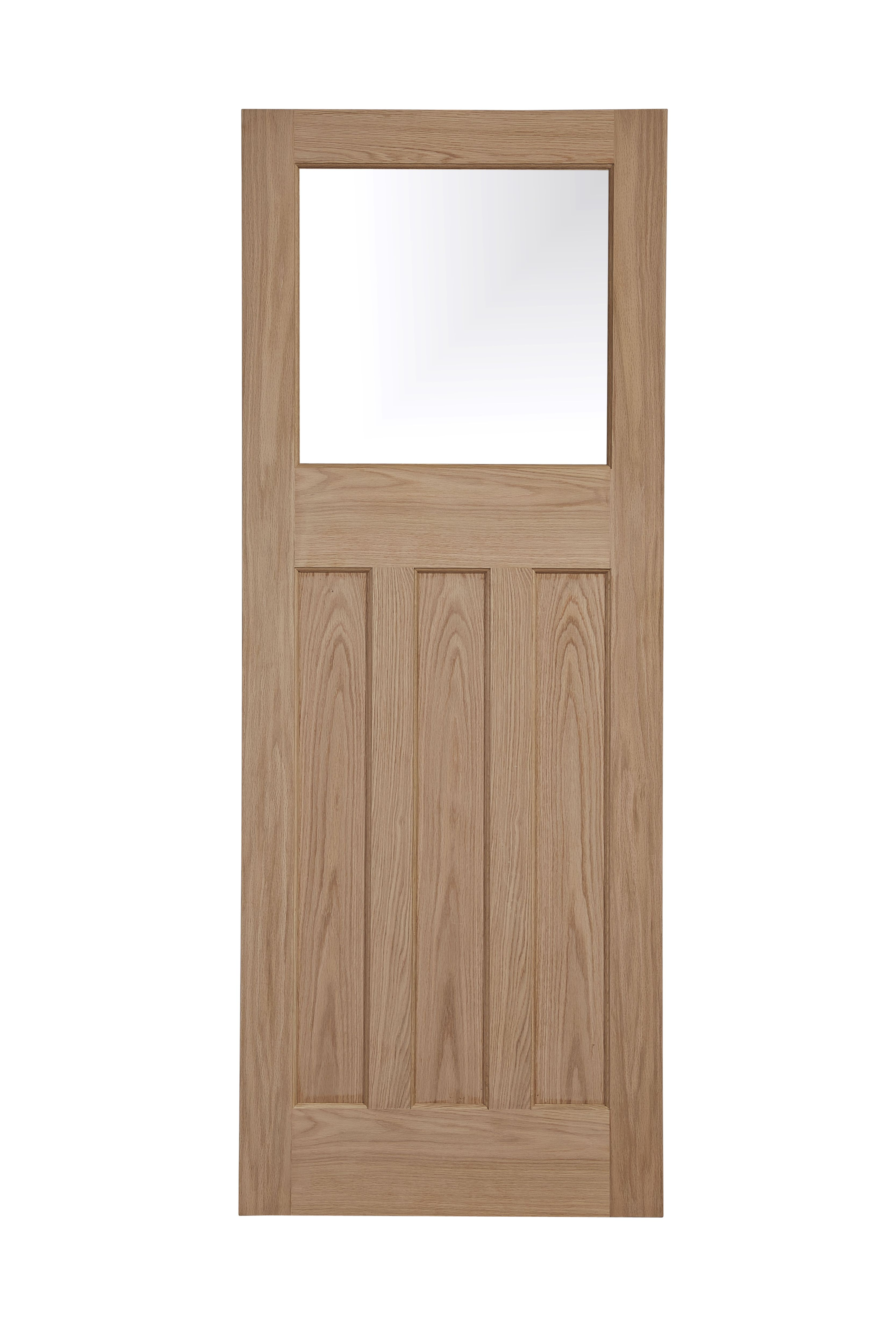 Traditional Panelled Oak Veneer Glazed Internal Door (H)1981mm (W)762mm | Departments | DIY at B\u0026Q  sc 1 st  B\u0026Q & Traditional Panelled Oak Veneer Glazed Internal Door (H)1981mm (W ...