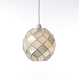 Colours Maringa Natural Diamond Lamp Shade (D)225mm