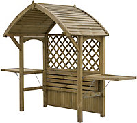 Blooma Softwood Arbour with Assembly Service