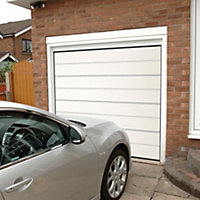 Frame not included Sectional Garage door, (H)2134mm (W)2134mm