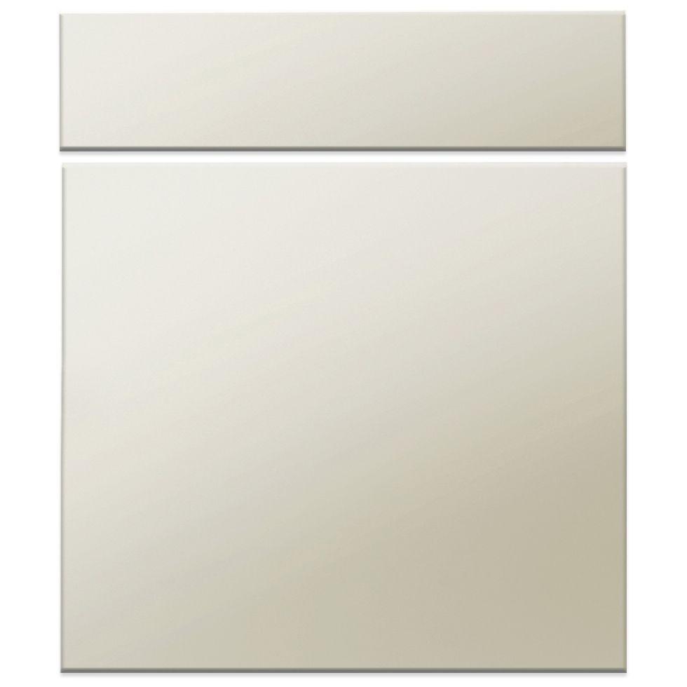 It Kitchens Santini Gloss Grey Slab Drawerline Door