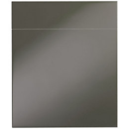 IT Kitchens Santini Gloss Anthracite Slab Drawerline door