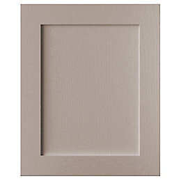 Cooke & Lewis Carisbrooke Taupe Integrated appliance door