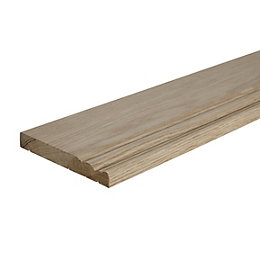 Skirting (T)18mm (W)145mm (L)2400mm, Pack of 1