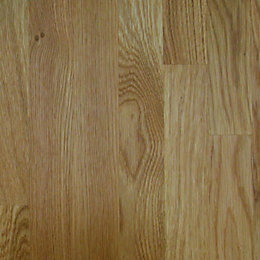 26mm Square edge Solid oak Worktop (L)2m (D)600mm