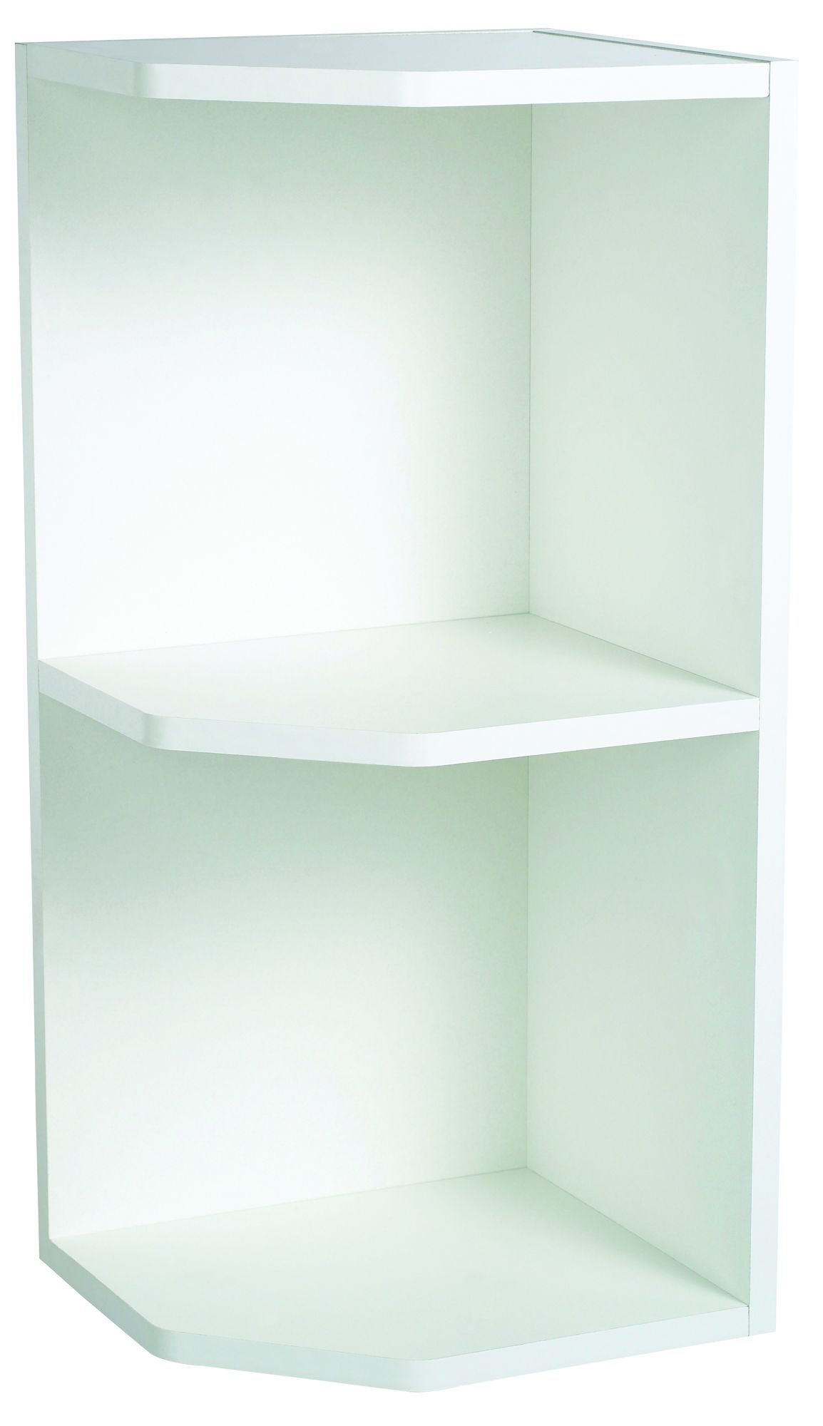 Cooke Amp Lewis Clic White Open End Open End Wall Cabinet W