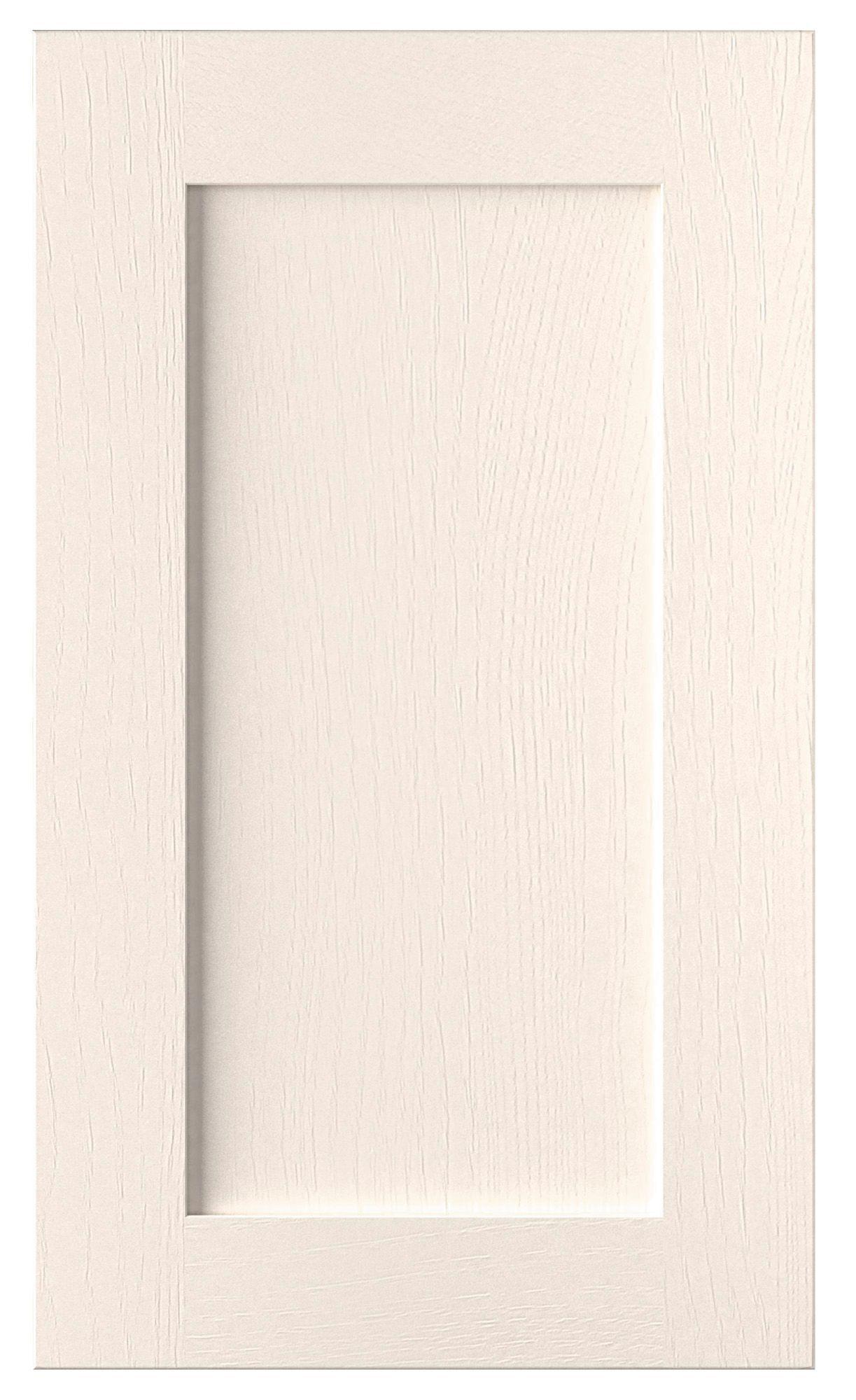 Cooke & Lewis Carisbrooke Ivory Tall standard door (W