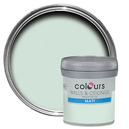 Colours Duck egg Matt Emulsion paint 0.05 L