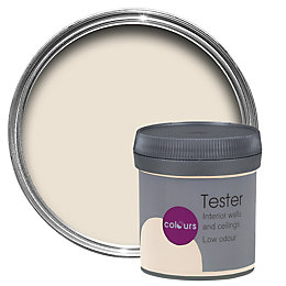 Colours Soft almond Matt Emulsion paint 0.05L Tester