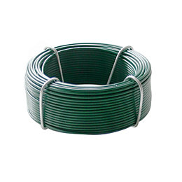 Gardman Plastic Coated Steel Garden Wire (L)30m (D)1.2mm