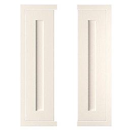 Cooke & Lewis Carisbrooke Ivory Framed Tall corner