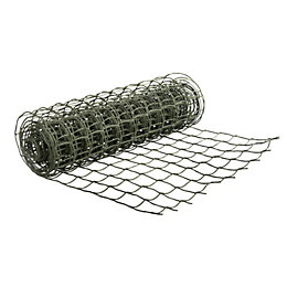 Green HDPE Wire Mesh (W)500mm (L)3000mm