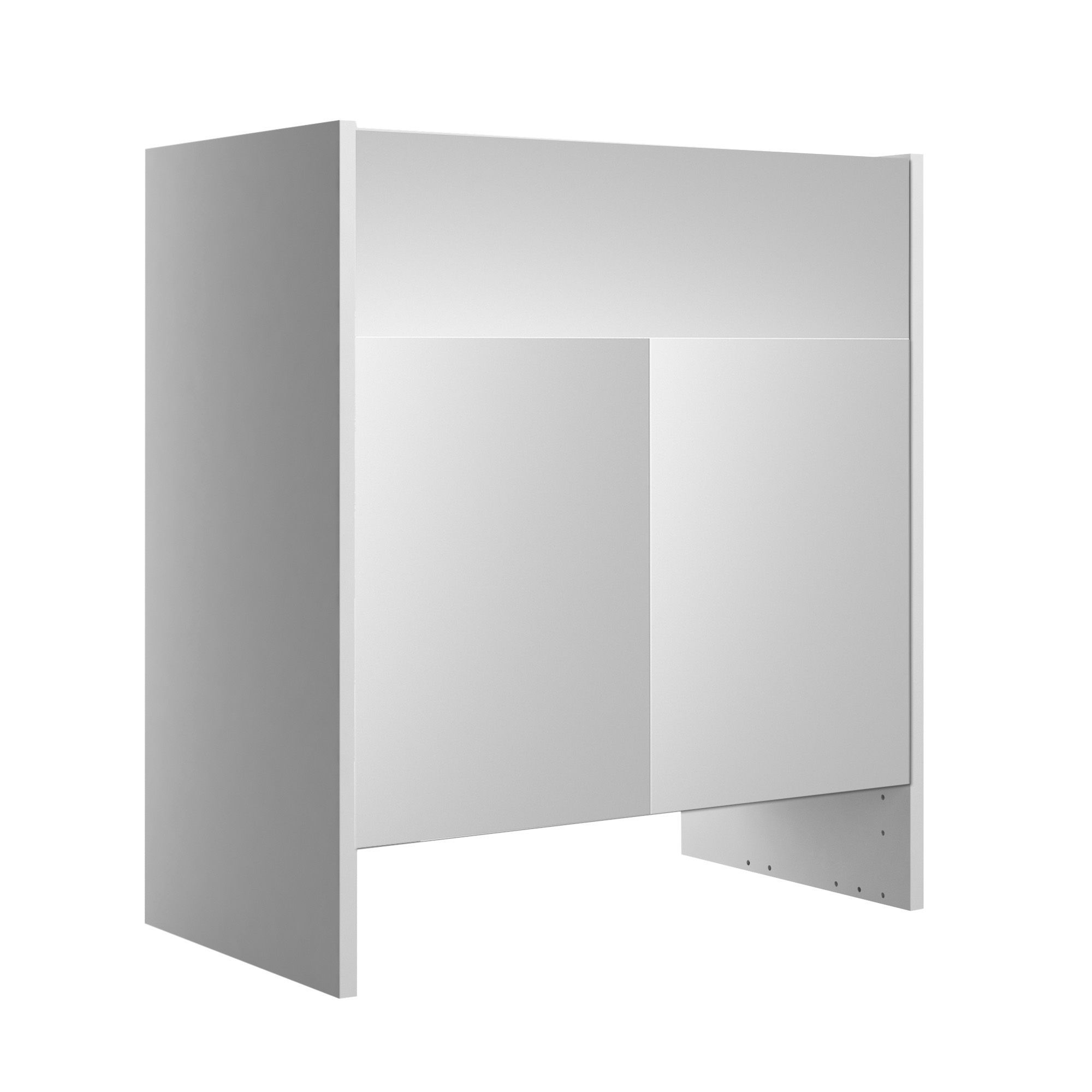 Cooke & Lewis Santini Gloss White Basin unit, (W)600mm | Departments ...