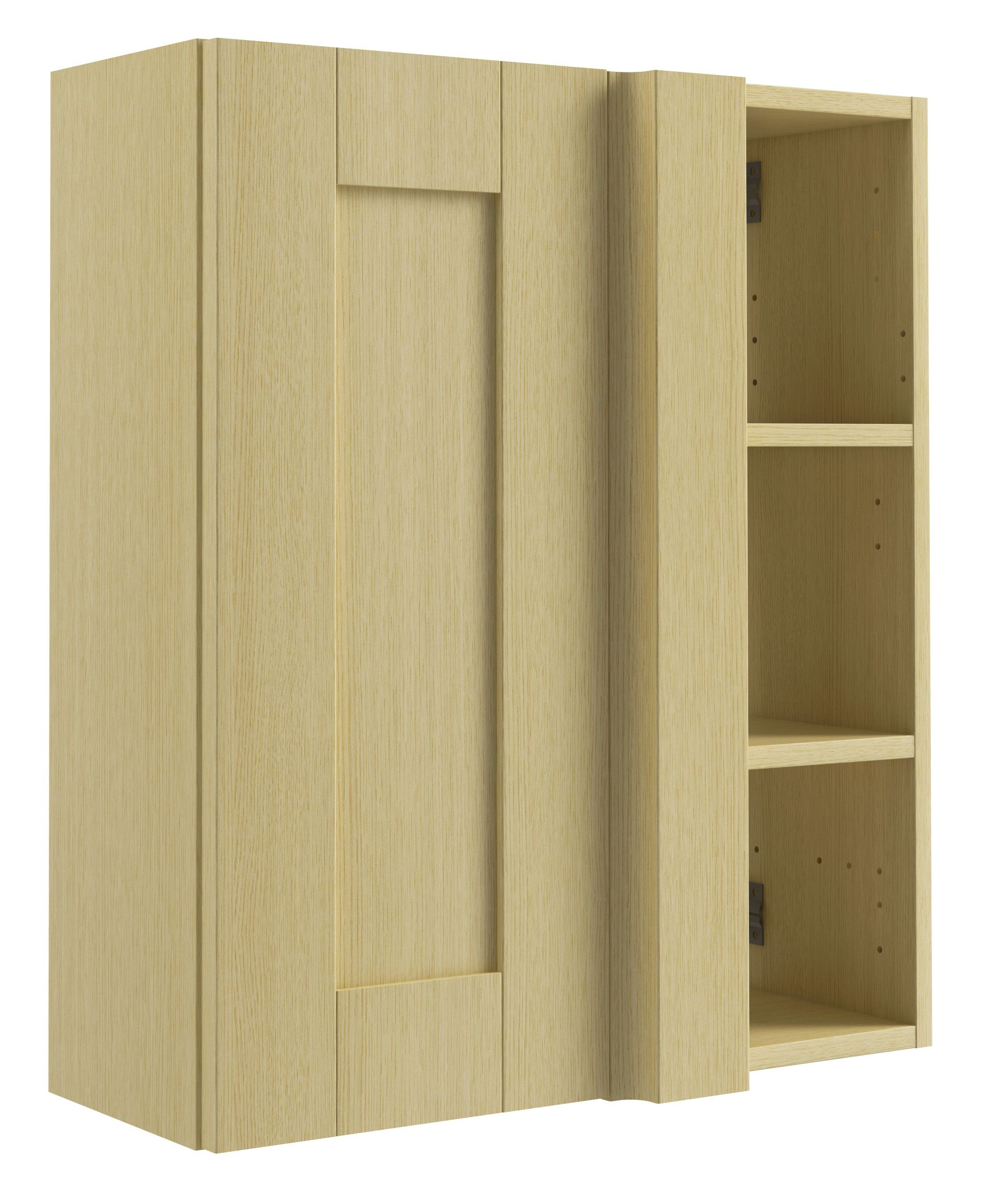 cooke lewis sorella oak effect corner wall cabinet w 50cm departments diy at b q. Black Bedroom Furniture Sets. Home Design Ideas