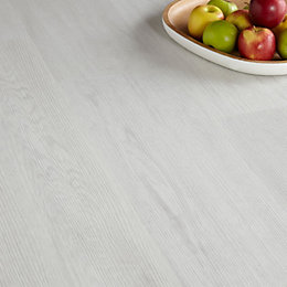 Colours Grey Oak Effect Luxury Vinyl Click Flooring