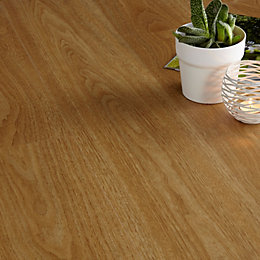Colours Walnut Effect Luxury Vinyl Click Flooring Sample