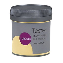 Colours Standard Lemon ice Matt Emulsion paint 0.05L