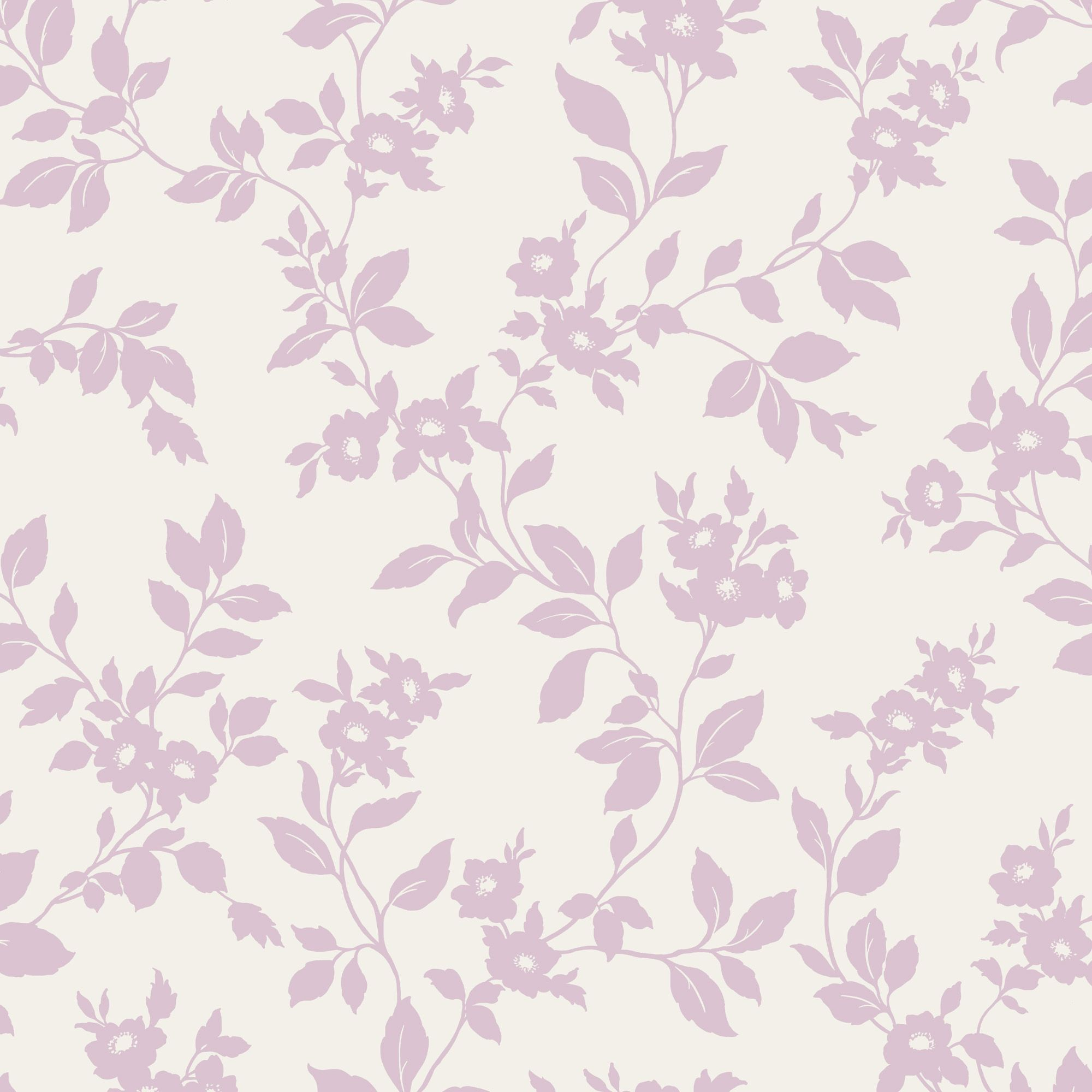 Colours Mayflower Pink Amp White Floral Mica Effect Wallpaper Departments Diy At B Amp Q