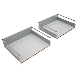 IT Kitchens Deep pan drawer box (W)600mm