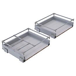IT Kitchens Premium Deep Pan Drawer Box (W)500mm