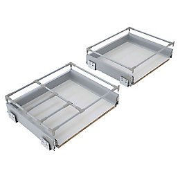 IT Kitchens Premium Deep Pan Drawer Box (W)800mm