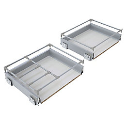 IT Kitchens Premium Deep Pan Drawer Box (W)500mm