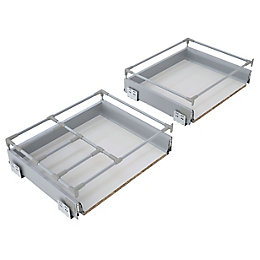 IT Kitchens Premium Deep Pan Drawer Box (W)600mm