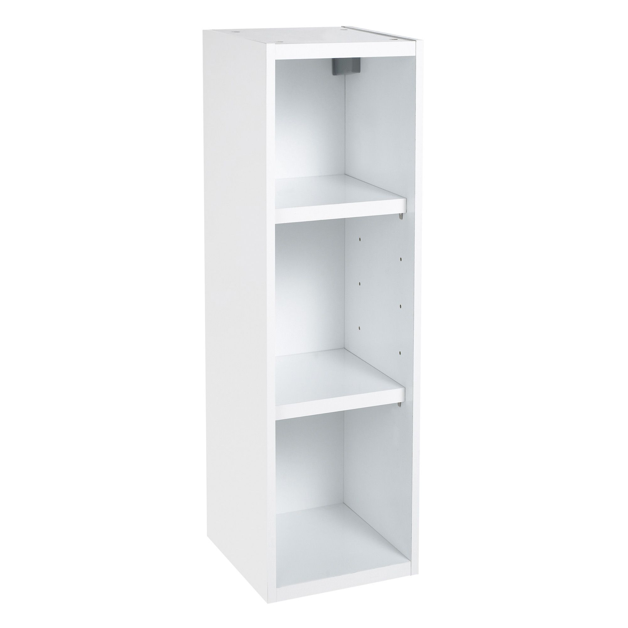 IT Kitchens White Open Tall wall cabinet (W)150mm ...