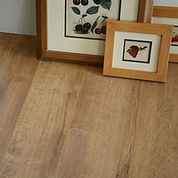 Concertino New England Natural Oak effect Laminate flooring