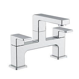 Cooke & Lewis Lincoln Chrome finish Bath mixer