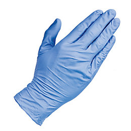 Diall Nitrile Disposable Gloves, Large, Pack of 100