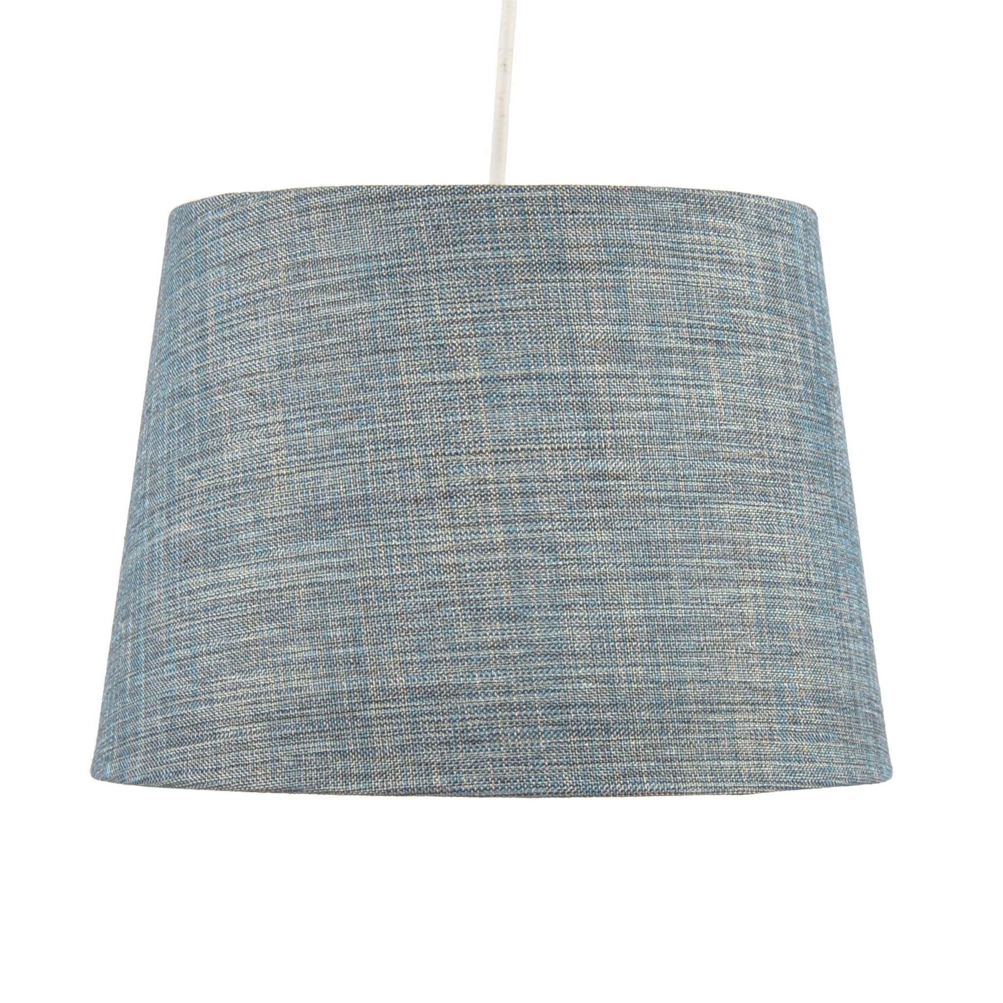 Colours sadler large blue metallic lamp shade d28cm departments colours sadler large blue metallic lamp shade d28cm departments diy at bq aloadofball Image collections