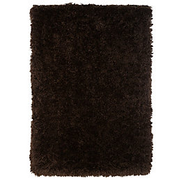 Colours Avalyon Brown Rug (L)1.7m (W)1.2m