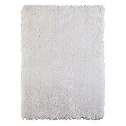 Colours Benita White Rug (L)1.7m (W)1.2m