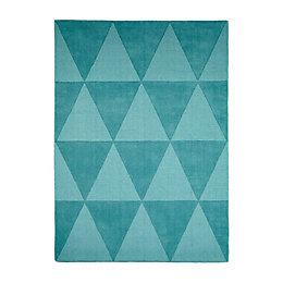 Colours Lucille Teal Rug (L)1.7M (W)1.2 M