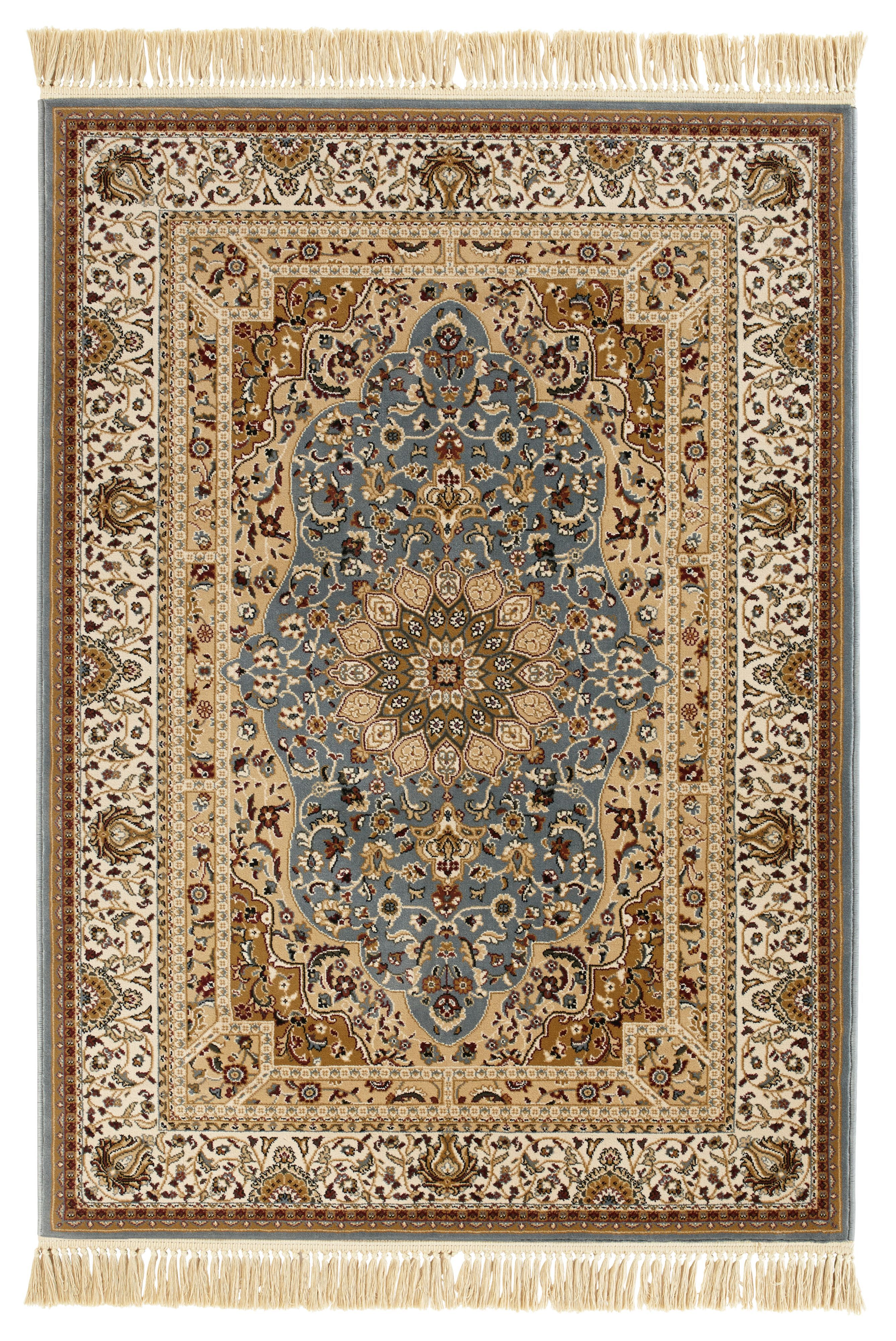 Colours Helina Beige Blue Persian Rug L 1 7m W 2 M Departments Diy At B Q