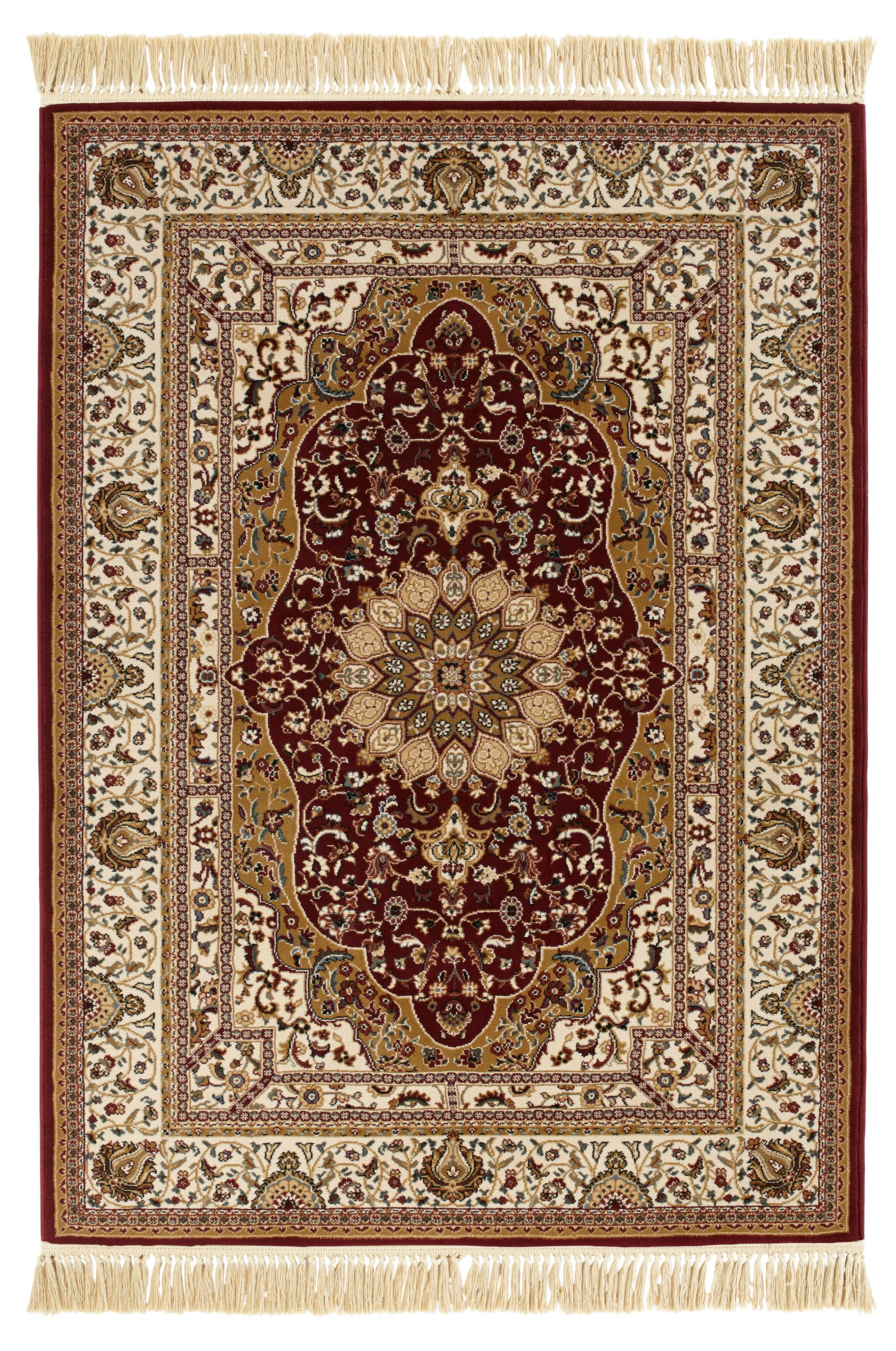 Colours Helina Beige Red Persian Rug L 2 3m W 1 6 M Departments Diy At B Q