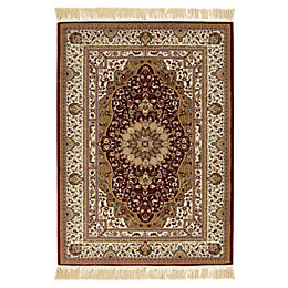 Colours Helina Beige & Red Persian Rug (L)2.3M